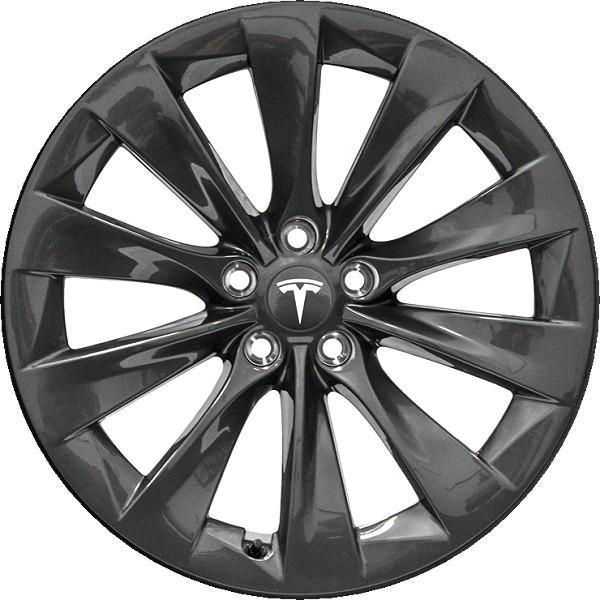 テスラ モデルS  純正19インチ スリップストリーム ホイール 4本set SlipStream Wheel 8Jx19 グレーメタリック ducatism