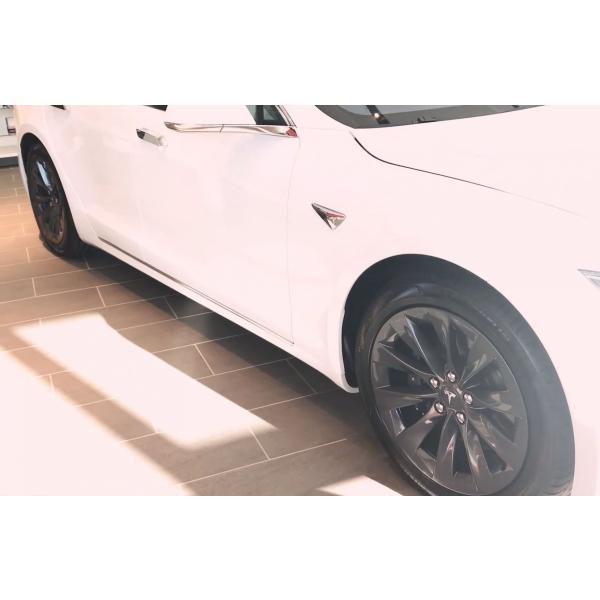 テスラ モデルS  純正19インチ スリップストリーム ホイール 4本set SlipStream Wheel 8Jx19 グレーメタリック ducatism 05
