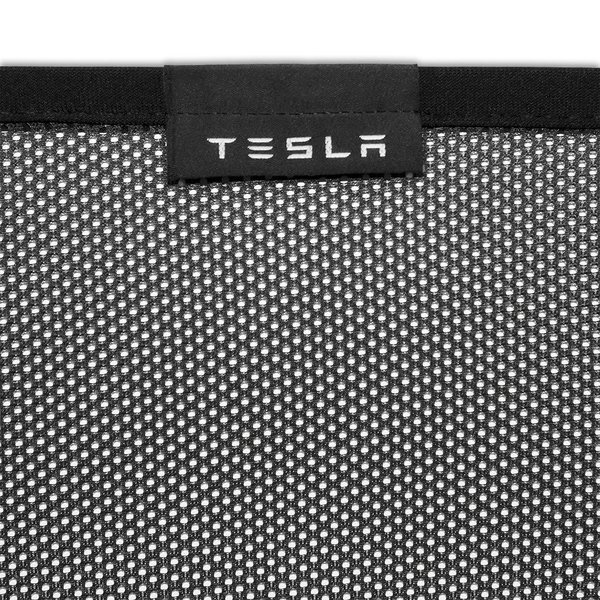 TESLA Model X Rear Liftgate Sunshades テスラ 純正 モデルX 専用 リアリフトゲート サンシェード ducatism 02