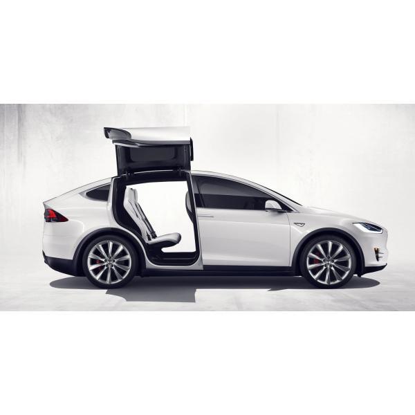 TESLA Model X Rear Liftgate Sunshades テスラ 純正 モデルX 専用 リアリフトゲート サンシェード ducatism 04