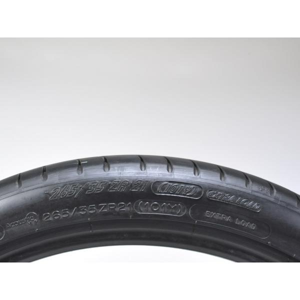テスラ認証タイヤ モデルS 純正 21インチ ミシュラン パイロットスーパースポーツ 265/35ZR21 リア1本 Michelin PSS TO Tesla ModelS ducatism 02