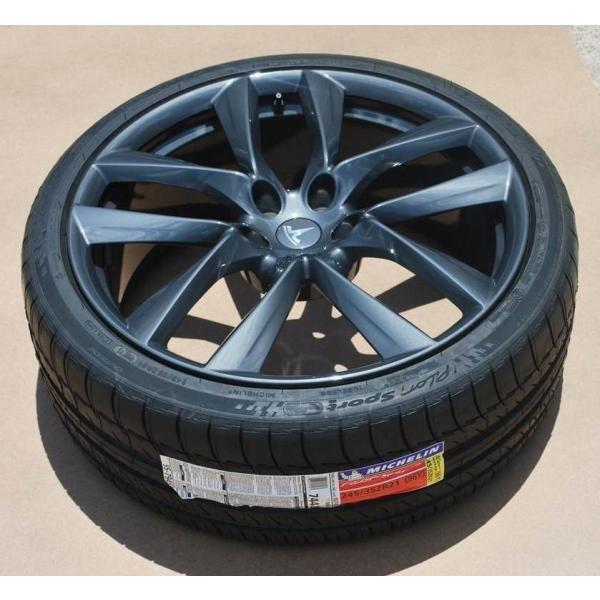 テスラ認証タイヤ モデルS 純正 21インチ ミシュラン パイロットスーパースポーツ 265/35ZR21 リア1本 Michelin PSS TO Tesla ModelS ducatism 06