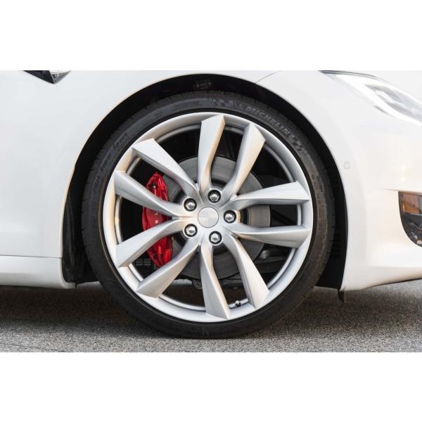 テスラ認証タイヤ モデルS 純正 21インチ ミシュラン パイロットスーパースポーツ 265/35ZR21 リア1本 Michelin PSS TO Tesla ModelS ducatism 07