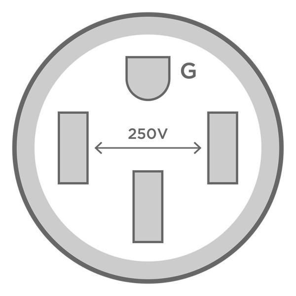 テスラ Gen2 モバイルコネクター用 200-250V NEMA14-50 アダプター TESLA Model S/X/3 Gen 2 NEMA Adapters (Model S/Model X/Model3) モデルS/モデルX/モデル3|ducatism|02