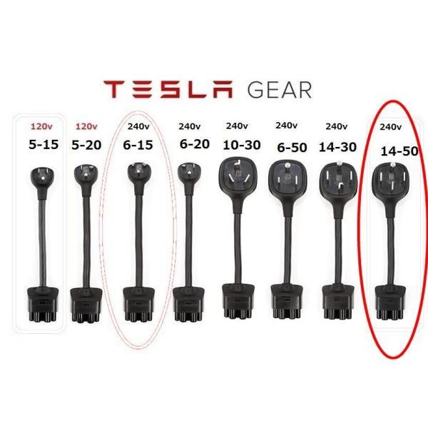 テスラ Gen2 モバイルコネクター用 200-250V NEMA14-50 アダプター TESLA Model S/X/3 Gen 2 NEMA Adapters (Model S/Model X/Model3) モデルS/モデルX/モデル3|ducatism|05