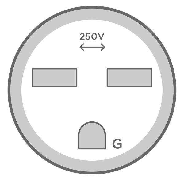 テスラ Gen2 モバイルコネクター用 200-250V NEMA6-15 アダプター TESLA Model S/X/3 Gen 2 NEMA Adapters (Model S/Model X/Model3) モデルS/モデルX/モデル3|ducatism|02