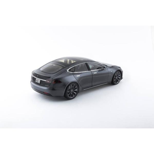 TESLA Diecast 1:18 Scale Model S P100D テスラ純正品 ダイキャスト 1/18 モデルS ミッドナイトシルバーメタリック  モデルカー ミニカー|ducatism|13