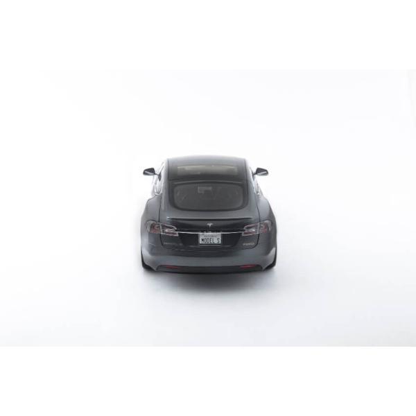 TESLA Diecast 1:18 Scale Model S P100D テスラ純正品 ダイキャスト 1/18 モデルS ミッドナイトシルバーメタリック  モデルカー ミニカー|ducatism|15