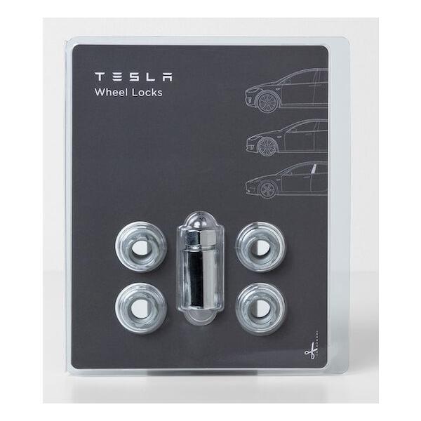 TESLA Model S/X/3 Wheel Lock Set テスラ モデルS/X/3 ホイールロックナットセット 純正品 ducatism