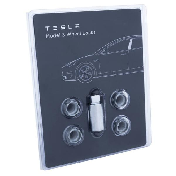 TESLA Model S/X/3 Wheel Lock Set テスラ モデルS/X/3 ホイールロックナットセット 純正品 ducatism 02