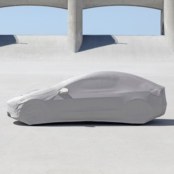 TESLA MODEL3 Outdoor Car Cover テスラ モデル3 屋外用ボディカバー 純正品|ducatism|02