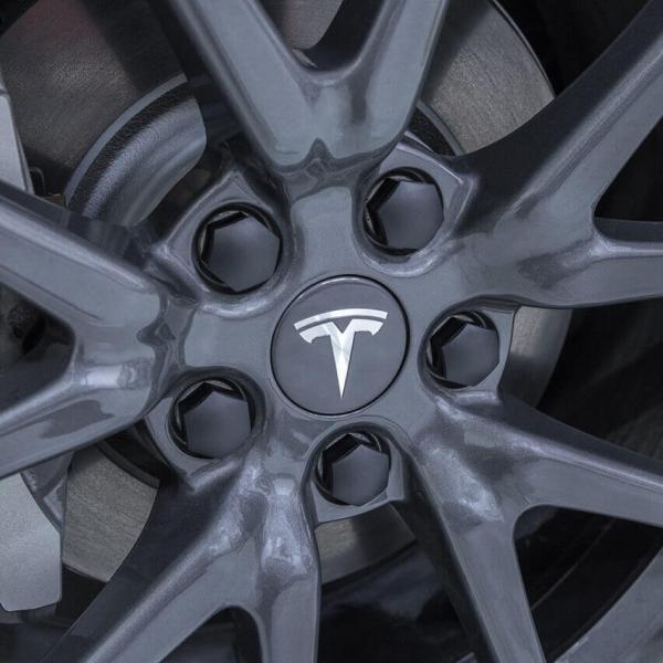 TESLA モデル3 エアロ ホイール キャップ キット テスラ 純正品 Model 3 Aero Wheel Cap Kit ducatism 04
