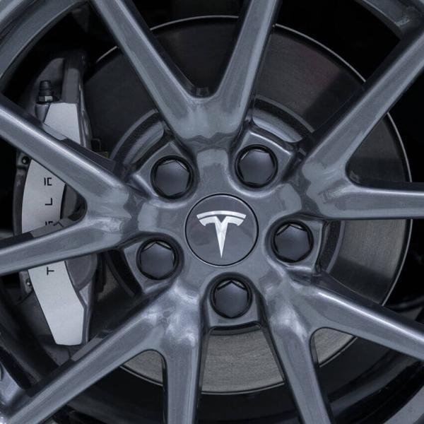 TESLA モデル3 エアロ ホイール キャップ キット テスラ 純正品 Model 3 Aero Wheel Cap Kit ducatism 05