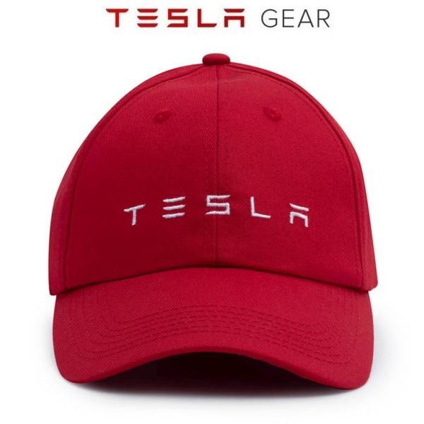 Tesla Logo Hat テスラ純正 テスラロゴハット (Model S/Model X/Model 3) 帽子 キャップ Cap|ducatism|02