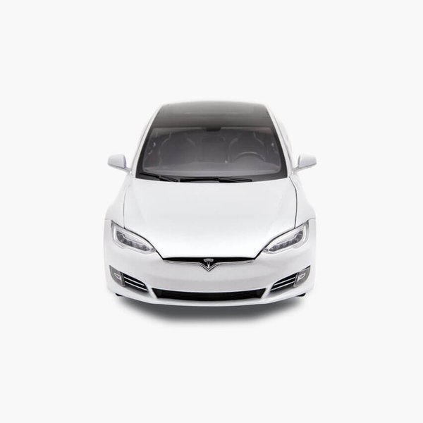 TESLA Diecast 1:18 Scale Model S P100D テスラ純正品 ダイキャスト 1/18 モデルS パールホワイトモデルカー ミニカー|ducatism|03