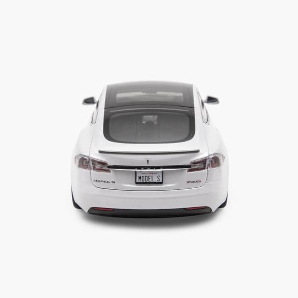 TESLA Diecast 1:18 Scale Model S P100D テスラ純正品 ダイキャスト 1/18 モデルS パールホワイトモデルカー ミニカー|ducatism|06