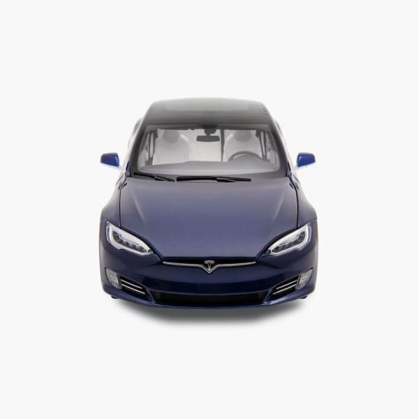 TESLA Diecast 1:18 Scale Model S P100D テスラ純正品 ダイキャスト 1/18 モデルS Deep Blue モデルカー ミニカー|ducatism|03