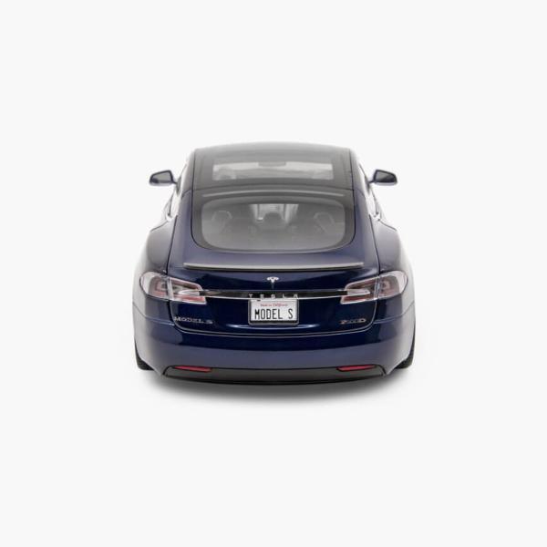 TESLA Diecast 1:18 Scale Model S P100D テスラ純正品 ダイキャスト 1/18 モデルS Deep Blue モデルカー ミニカー|ducatism|06