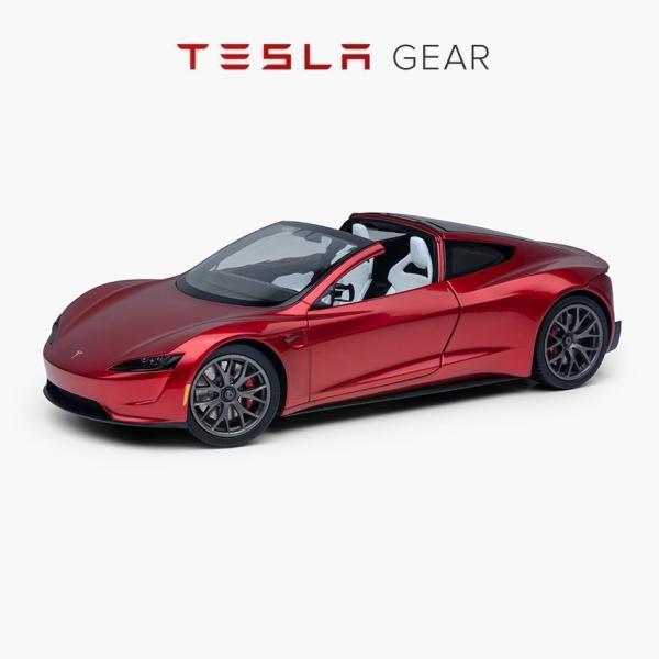 TESLA Diecast 1:18 Scale New Roadster テスラ純正品 ダイキャスト 1/18 New ロードスター モデルカー ミニカー|ducatism
