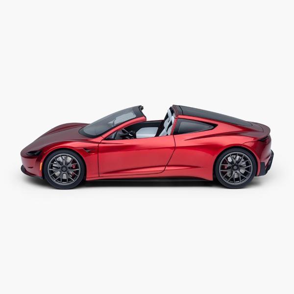 TESLA Diecast 1:18 Scale New Roadster テスラ純正品 ダイキャスト 1/18 New ロードスター モデルカー ミニカー|ducatism|02