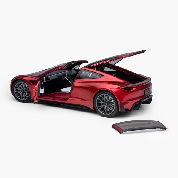 TESLA Diecast 1:18 Scale New Roadster テスラ純正品 ダイキャスト 1/18 New ロードスター モデルカー ミニカー|ducatism|04