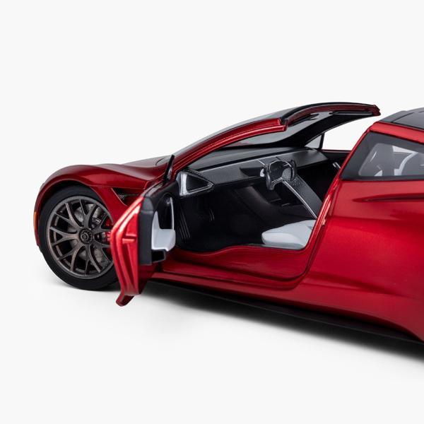 TESLA Diecast 1:18 Scale New Roadster テスラ純正品 ダイキャスト 1/18 New ロードスター モデルカー ミニカー|ducatism|05