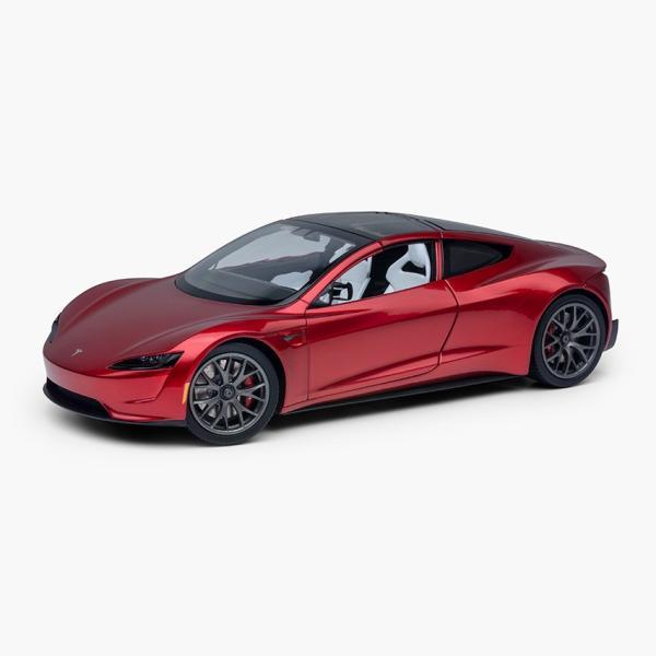 TESLA Diecast 1:18 Scale New Roadster テスラ純正品 ダイキャスト 1/18 New ロードスター モデルカー ミニカー|ducatism|08