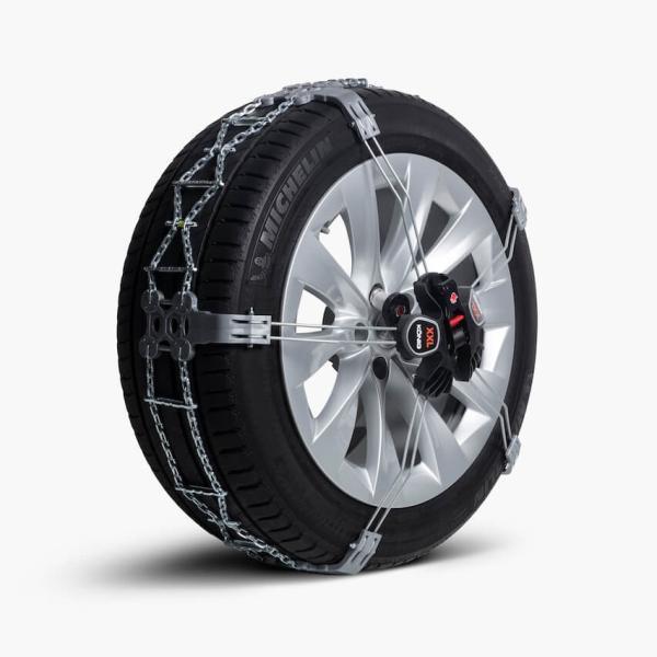 テスラ 純正 モデルX スノーチェーン TESLA MODEL X 20/22インチ車 Model X Snow Chains ducatism