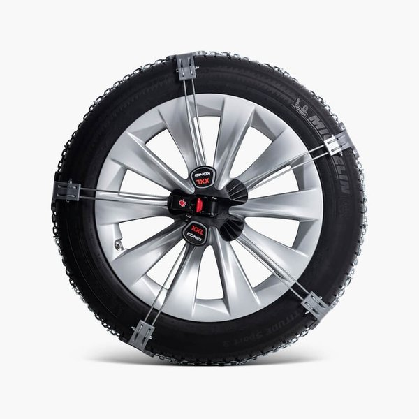テスラ 純正 モデルX スノーチェーン TESLA MODEL X 20/22インチ車 Model X Snow Chains ducatism 02