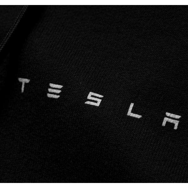 Tesla Motors テスラ モーターズ 純正 Men's Full-Zip Hoodie メンズフルジップフーディー パーカー ducatism 03
