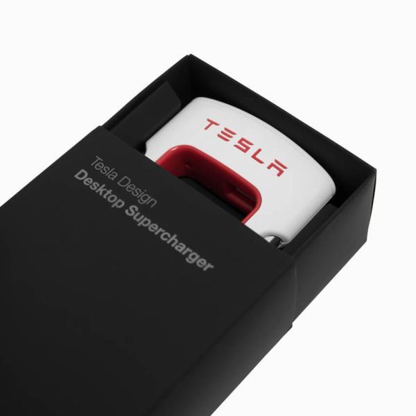 Tesla テスラ純正 デスクトップスーパーチャージャー Desktop Supercharger Model S Model X Model3|ducatism|04