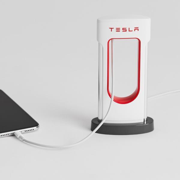 Tesla テスラ純正 デスクトップスーパーチャージャー Desktop Supercharger Model S Model X Model3|ducatism|05