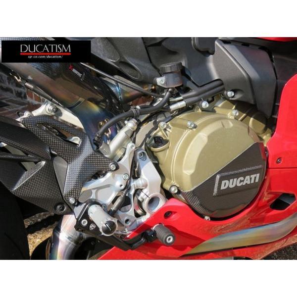 ドゥカティ パニガーレ 1299/1199/959/899 バックステップ セット  Panigale DUCATI パフォーマンス 正規純正品 フットペグ|ducatism|02
