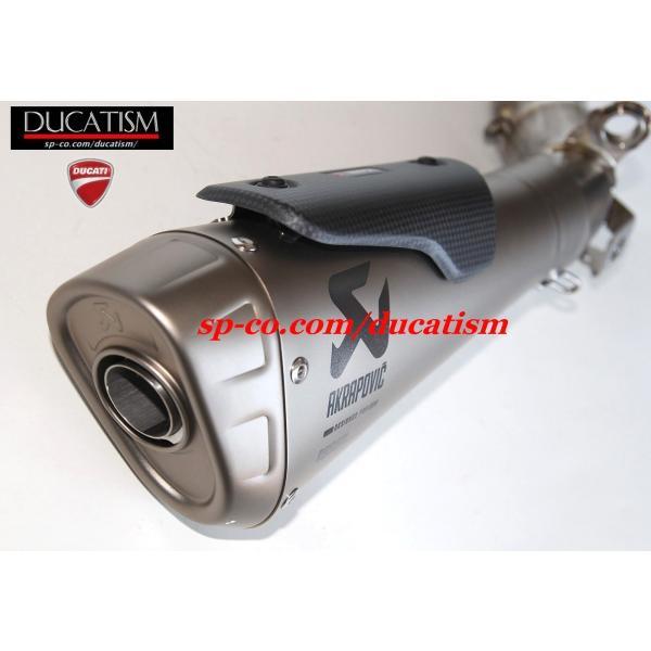 DUCATI パニガーレ V4 スリップオンサイレンサー + サイレントバッフル アクラポヴィッチ Panigale V4/V4R AKRAPOVIC 96481391Aドゥカティ 正規純正品 ducatism 14