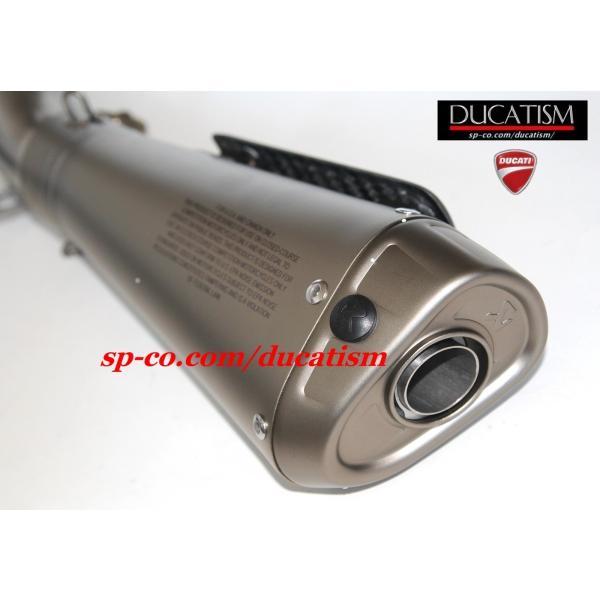 DUCATI パニガーレ V4 スリップオンサイレンサー + サイレントバッフル アクラポヴィッチ Panigale V4/V4R AKRAPOVIC 96481391Aドゥカティ 正規純正品 ducatism 15