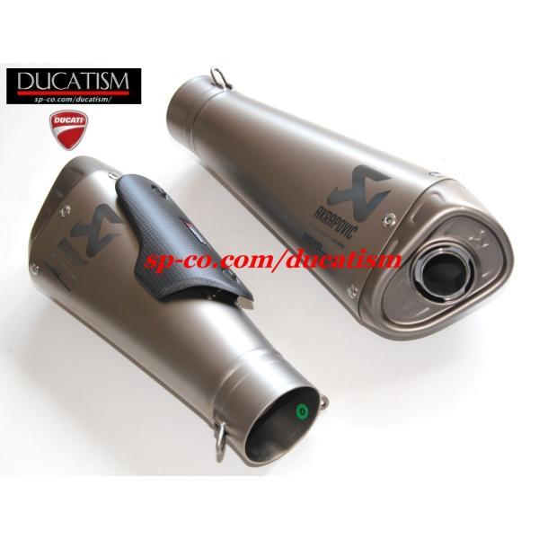 DUCATI パニガーレ V4 スリップオンサイレンサー + サイレントバッフル アクラポヴィッチ Panigale V4/V4R AKRAPOVIC 96481391Aドゥカティ 正規純正品 ducatism 16