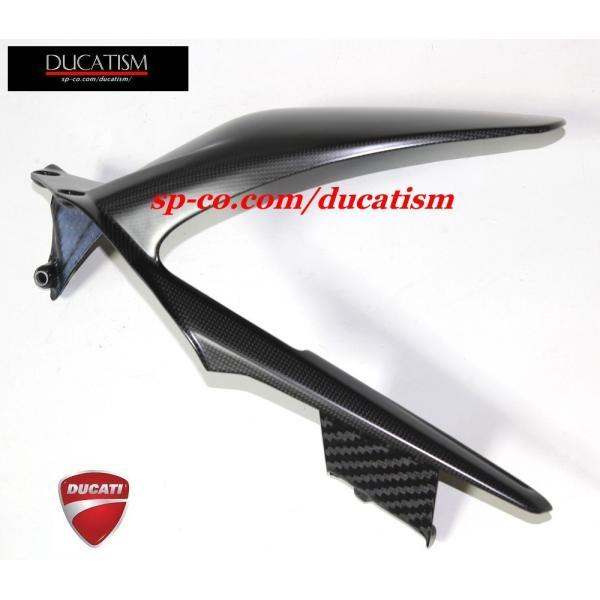 パニガーレV4/V4R リアマッドガード ドライカーボン ドゥカティパフォーマンス  DUCATI Panigale V4 V4R レース用 正規純正品 96989981a|ducatism|03