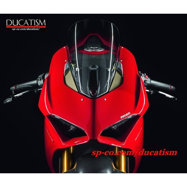 DUCATI パニガーレV4 ラージスクリーン クリアー/スモーク 大型プレキシガラス ドゥカティ パフォーマンス DP Panigale V4 正規純正品 ducatism 02
