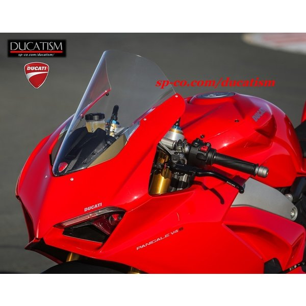 DUCATI パニガーレV4 ラージスクリーン クリアー/スモーク 大型プレキシガラス ドゥカティ パフォーマンス DP Panigale V4 正規純正品 ducatism 07