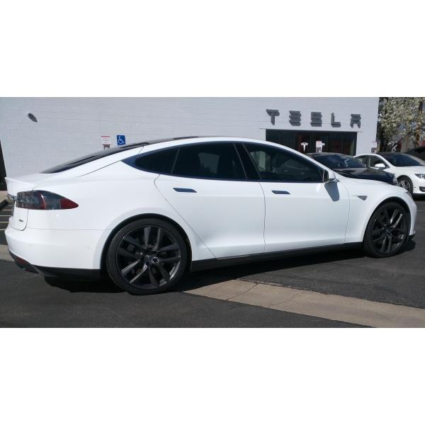テスラ モデルS  純正 21インチ アラクニッド ホイール グレー4本set Arachnid Wheel 8.5Jx21/9Jx21 1台分set Tesla ModelS 鍛造|ducatism|04