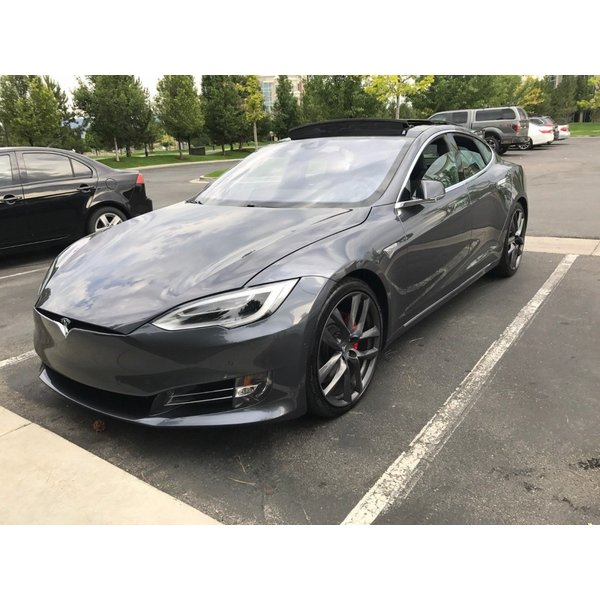 テスラ モデルS  純正 21インチ アラクニッド ホイール グレー4本set Arachnid Wheel 8.5Jx21/9Jx21 1台分set Tesla ModelS 鍛造|ducatism|05
