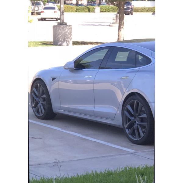 テスラ モデルS  純正 21インチ アラクニッド ホイール グレー4本set Arachnid Wheel 8.5Jx21/9Jx21 1台分set Tesla ModelS 鍛造|ducatism|08