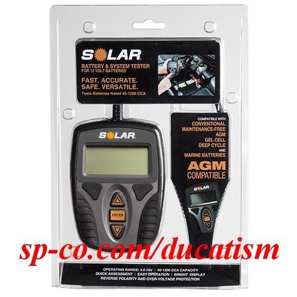SOLAR BA9 CCAテスター 2019最新モデル 高精度デジタル 12V バッテリー システム テスター バッテリー チェッカー 日本語説明書 1年保証付き 送料無料 ducatism 04
