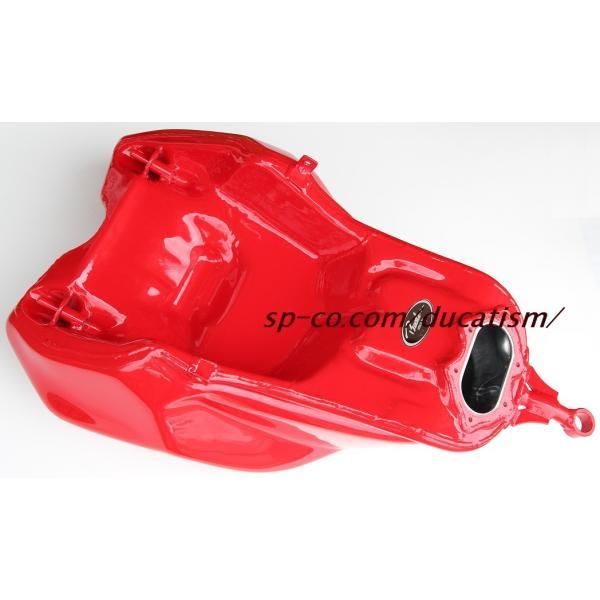 ビーターアルミタンク 塗装1198SPヘアライン仕上げ込み (モニター特価!!)純正デカール代+デカール貼付+ハードクリア塗装代 (タンクと同時購入に限ります)|ducatism|06