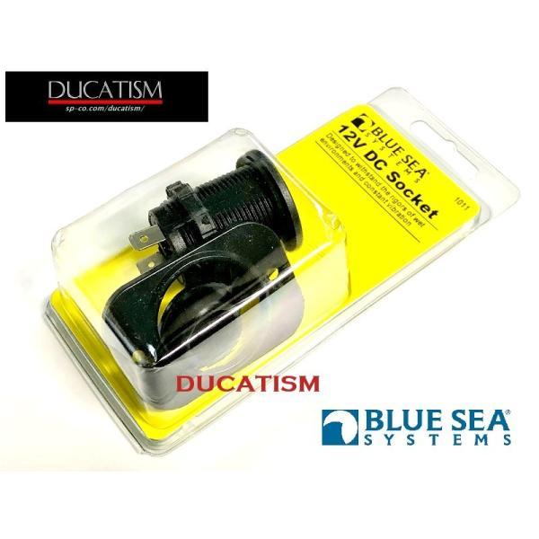BlueSea 12V シガーソケット マリングレードの信頼性のある防水12V電源ソケット BlueSeaSystems 純正パーツ|ducatism|03