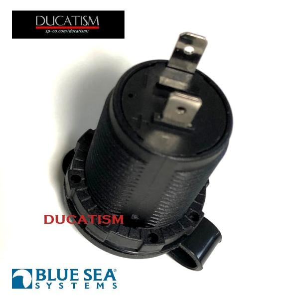 BlueSea 12V シガーソケット マリングレードの信頼性のある防水12V電源ソケット BlueSeaSystems 純正パーツ|ducatism|07