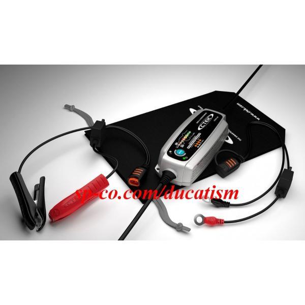 シーテック CTEK 56-959 MUS4.3 TEST&CHARGE 12V バッテリー充電器 テスト&チャージ バッテリーテスターメンテナー 日本語説明書 1年保証付き 送料無料|ducatism|04