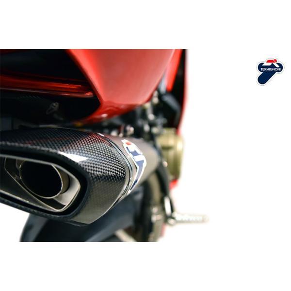 テルミニョーニ D17009400ITC パニガーレ TERMIGNONI DUCATI 1299 1199 Panigale RACING D170  アップタイプフルエキゾースト|ducatism|05