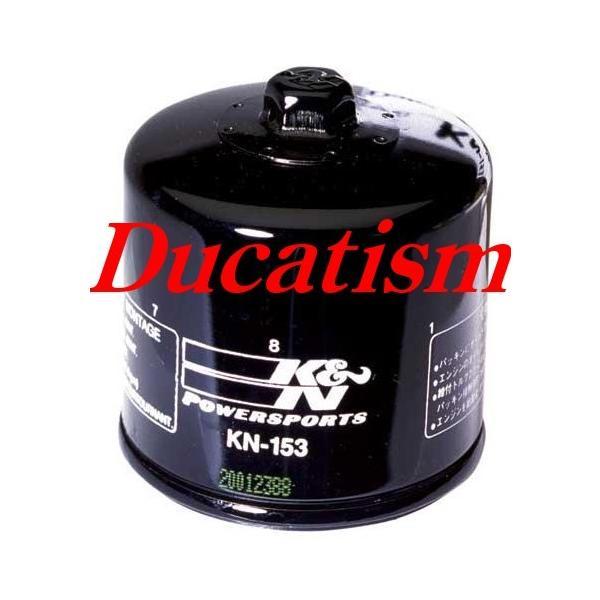 セール品 ケーアンドエヌ ドゥカティ オイルフィルター K&N DUCATI 用 KN-153 All Models|ducatism
