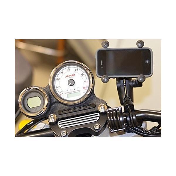 RAM-B-149Z-UN7U ラムマウント Xグリップ U字クランプ スマホ用 ゴムバンド テザー付 RAM MOUNTS バイク/自転車 iPhone7/8/X/Xs対応|ducatism|04